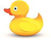vector file of rubber duck