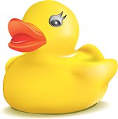 Rubber Duck Vector Illustration