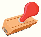 istock Rubber Stamp of approval 115081606