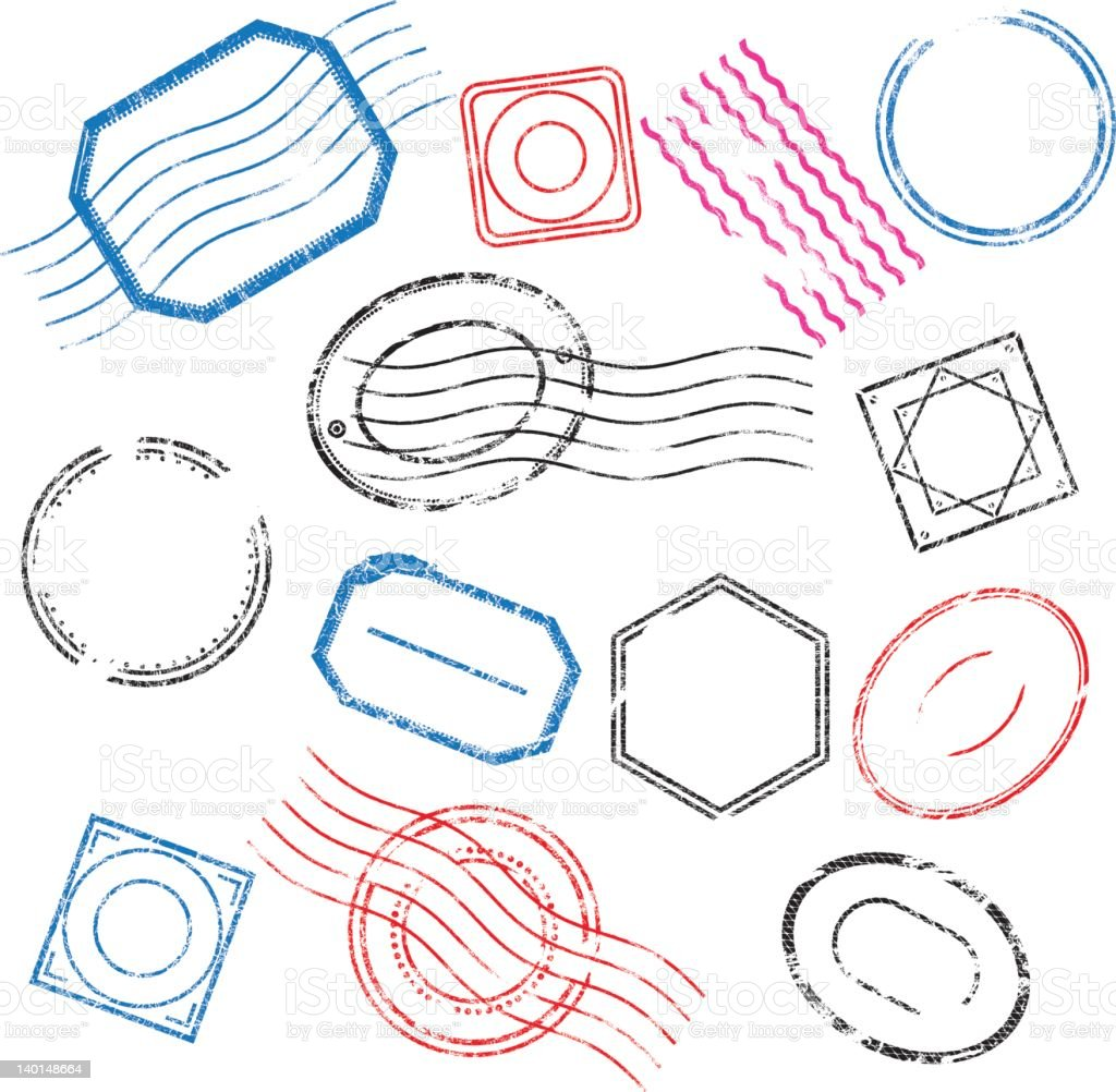 Rubber Stamp royalty-free stock vector art