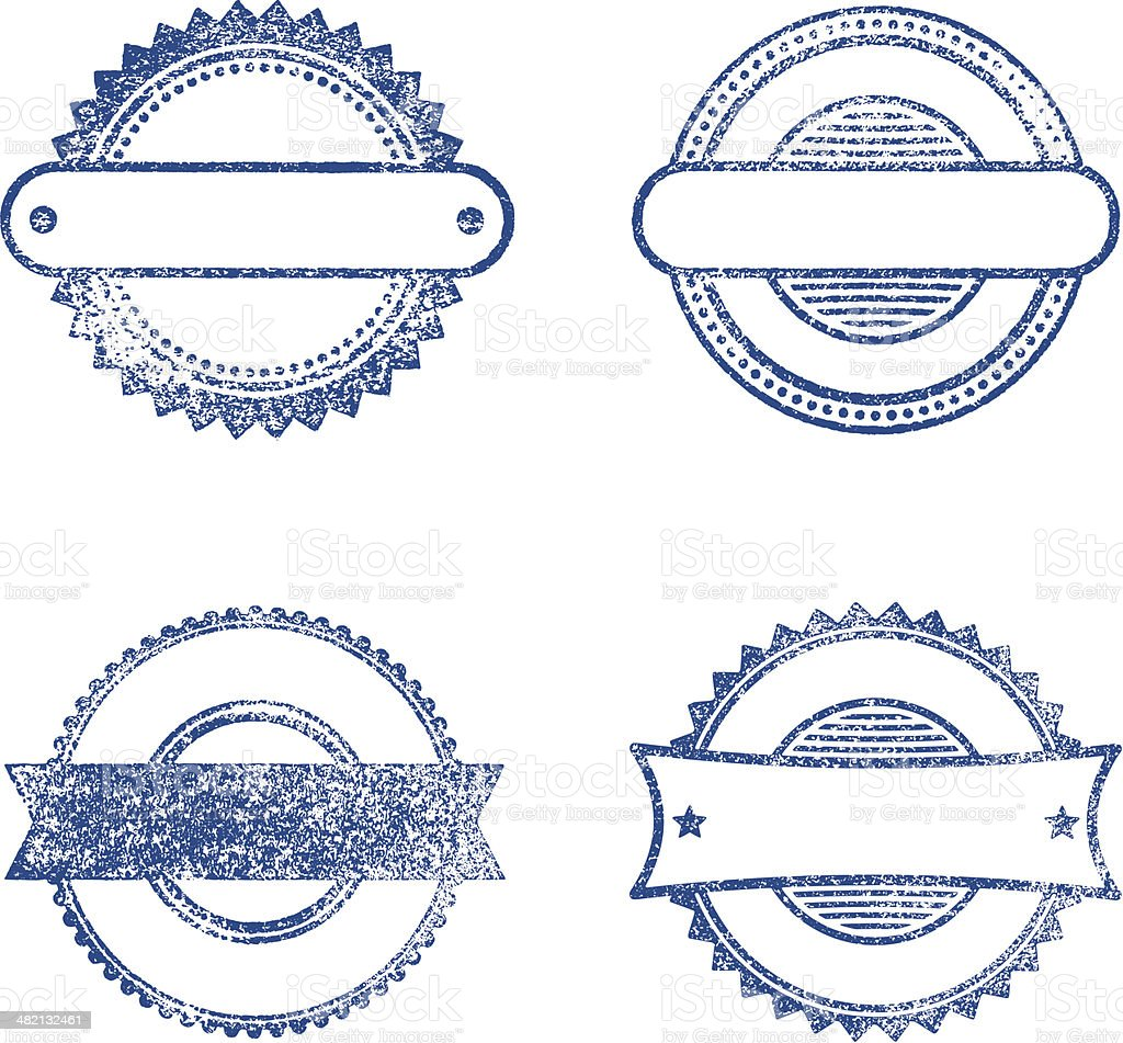 Rubber stamps royalty-free rubber stamps stock vector art & more images of blank