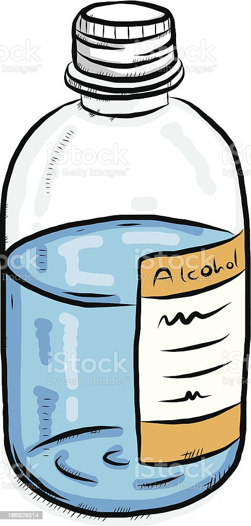 rubbing alcohol bottle royalty-free rubbing alcohol bottle stock vector art & more images of alcohol