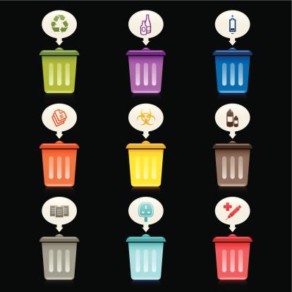 Rubbish Bin Icons