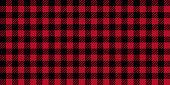Ruby Lumberjack Buffalo Plaid Seamless Pattern