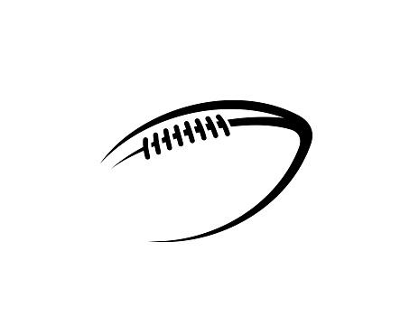 Vetores de Bola De Rugby e mais imagens de Bola