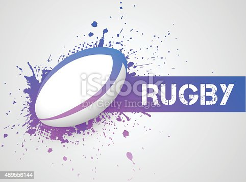 istock Rugby ball 489556144