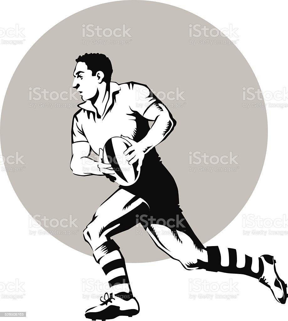 royalty free rugby player clip art vector images illustrations rh istockphoto com