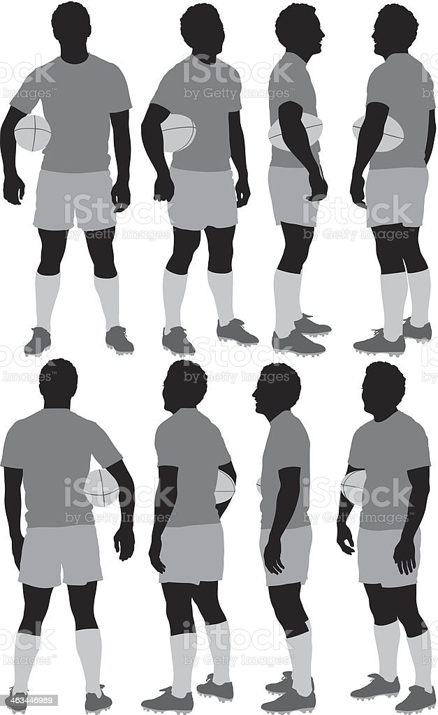 Rugby player royalty-free rugby player stock vector art & more images of adult