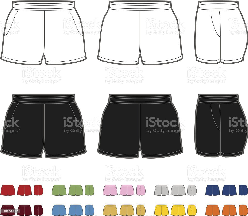 Rugby shorts royalty-free rugby shorts stock vector art & more images of beauty