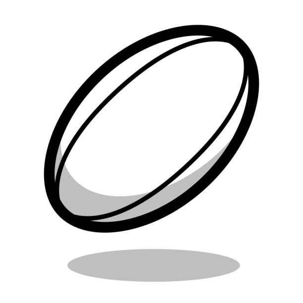 5 405 Rugby Ball Illustrations Royalty Free Vector Graphics Clip Art Istock