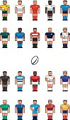 Rugby Team icons
