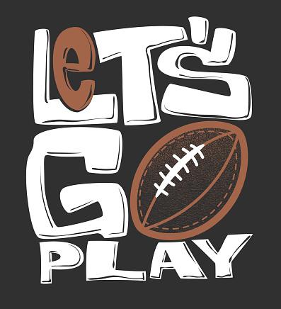 Rugby t-shirt graphics print design, vector illustration