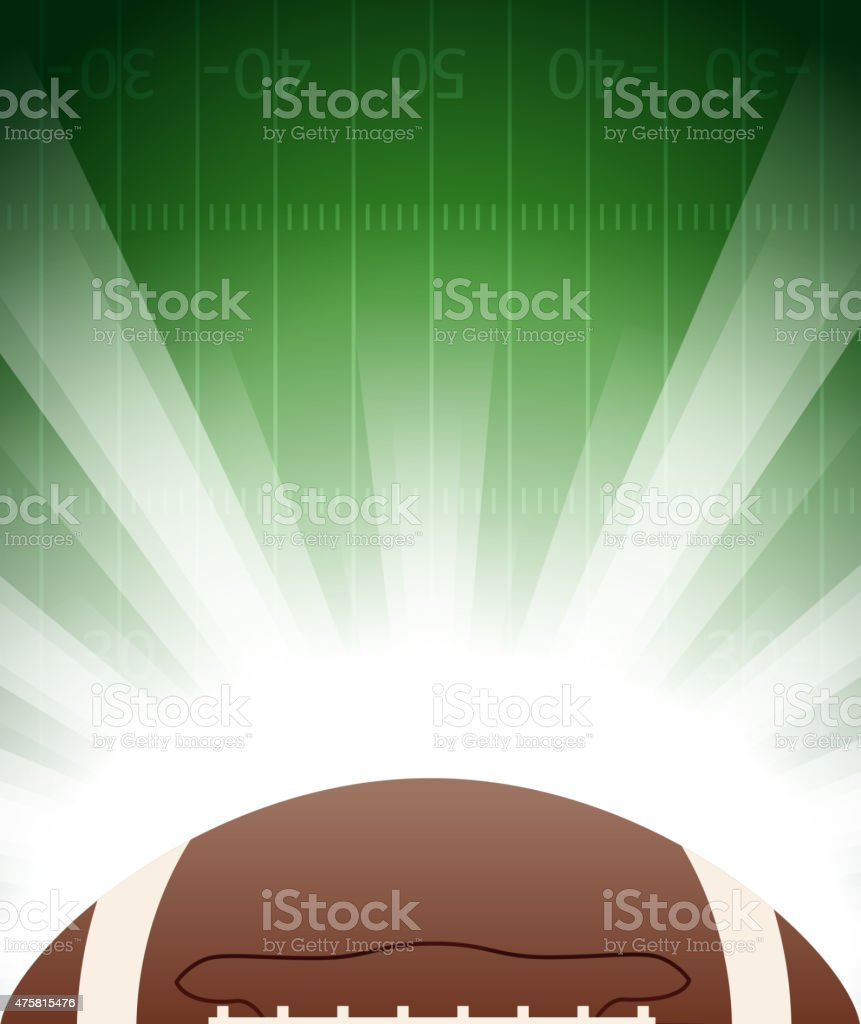 Rugby vector art illustration