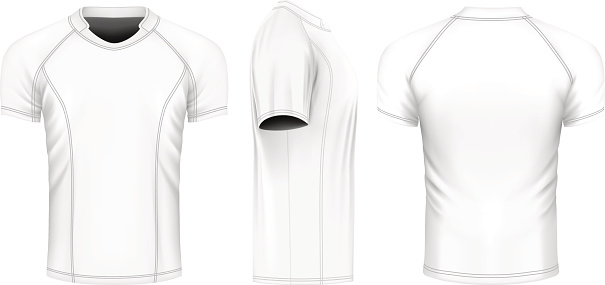 Rugby vector jersey
