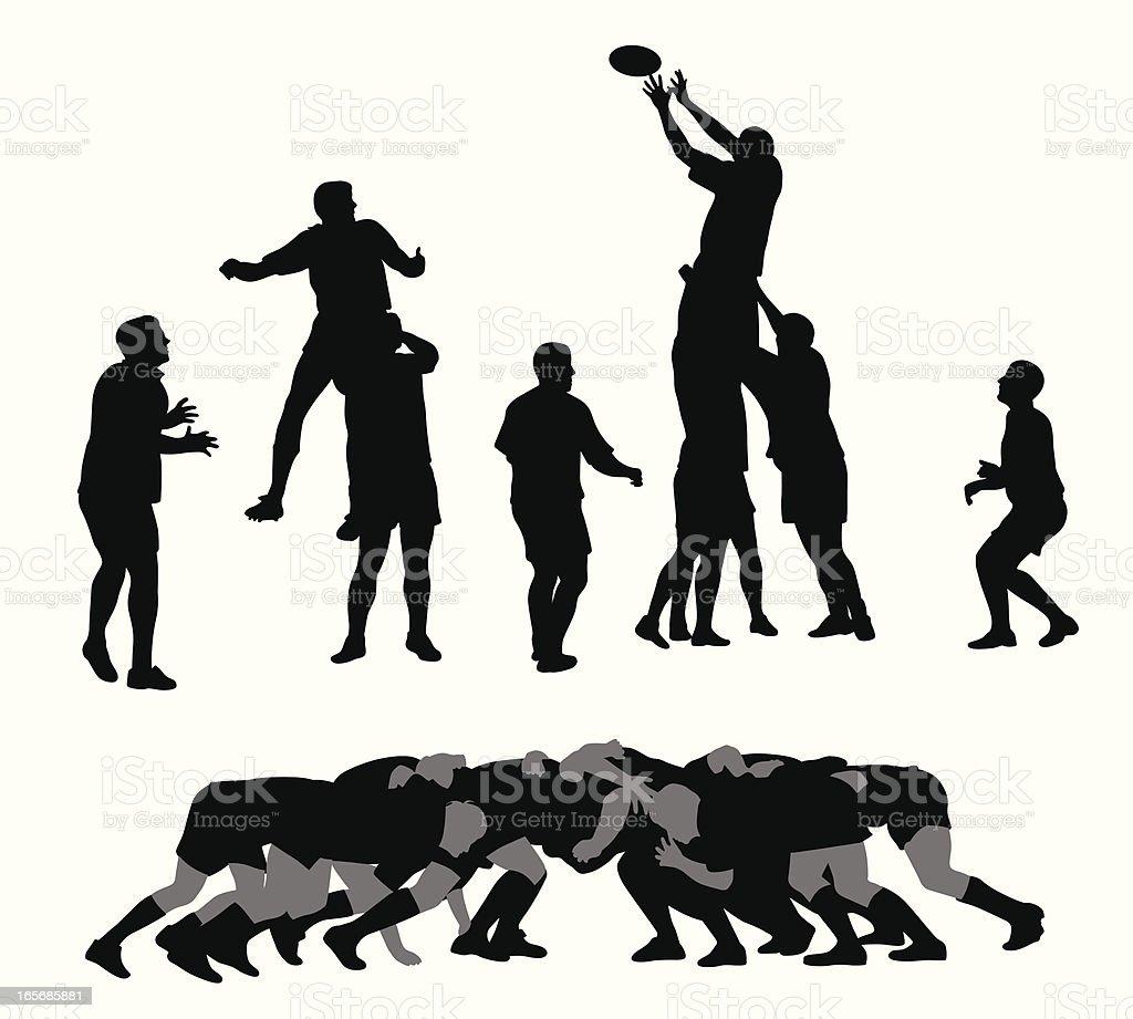 Rugby - – Vektorgrafik