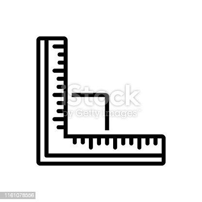Icon for ruler, unit, distances, measuring, scale, yardage, measurement, meterage, dimension, inch, centimeter