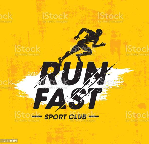 Run fast sport club creative vector illustration on rough texture vector id1014168694?b=1&k=6&m=1014168694&s=612x612&h=71tmuwiyzywy3bllmob8zq9eveejaok89j cncgdgqa=