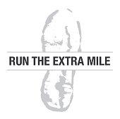 Run the Extra Mile Shoe Print