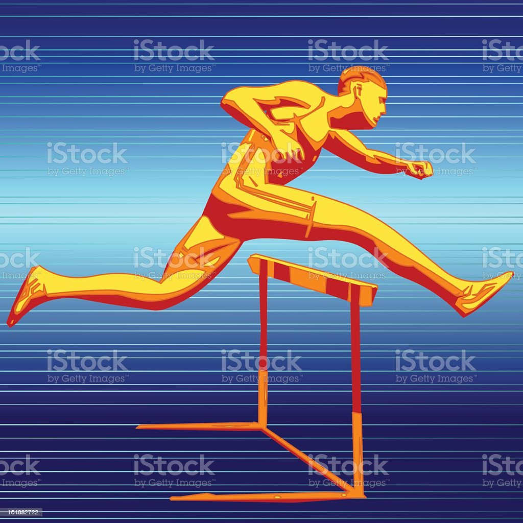 Runner royalty-free runner stock vector art & more images of activity