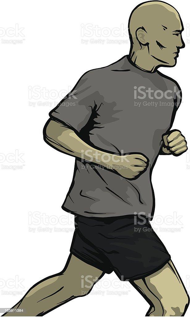Runner royalty-free runner stock vector art & more images of adult