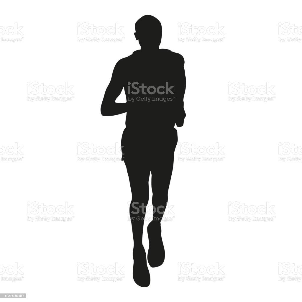 runner vector silhouette stock illustration download image now istock runner vector silhouette stock illustration download image now istock