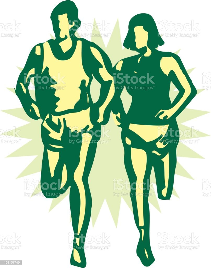 runners royalty-free runners stock vector art & more images of adult