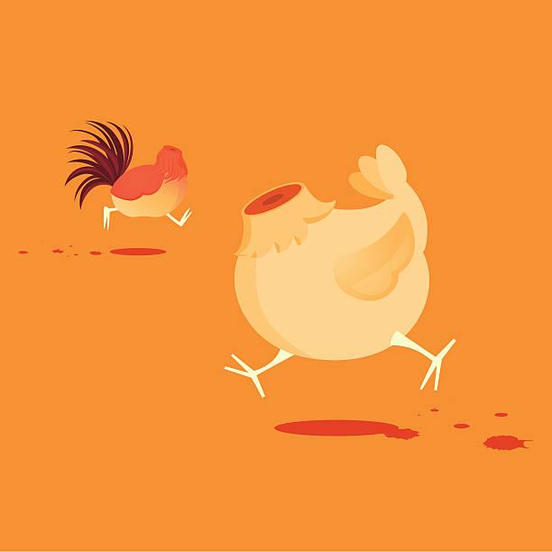 running around like chicken without a head - 被砍頭 幅插畫檔、美工圖案、卡通及圖標