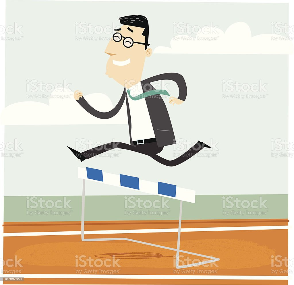 Running Businessman royalty-free running businessman stock vector art & more images of adult