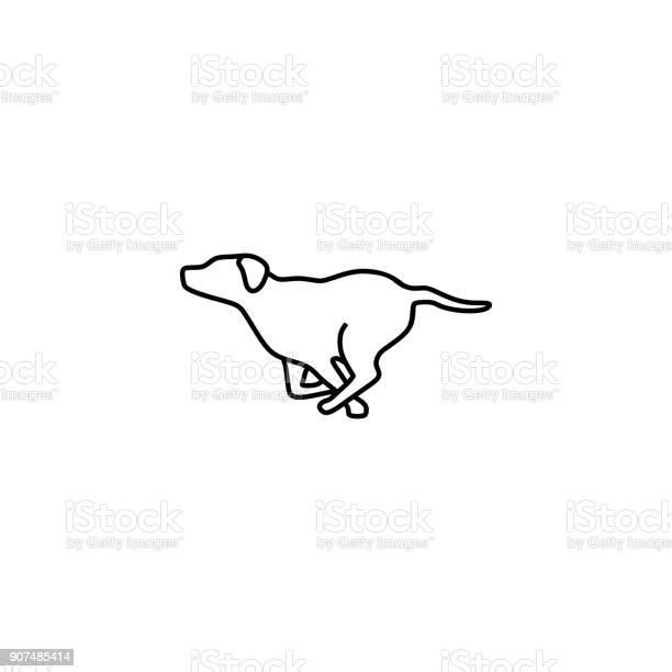 Running dog vector illustration vector id907485414?b=1&k=6&m=907485414&s=612x612&h=yutxn0por7o jxkqvmxx0wgvqt iiotgbdcpafwjvog=