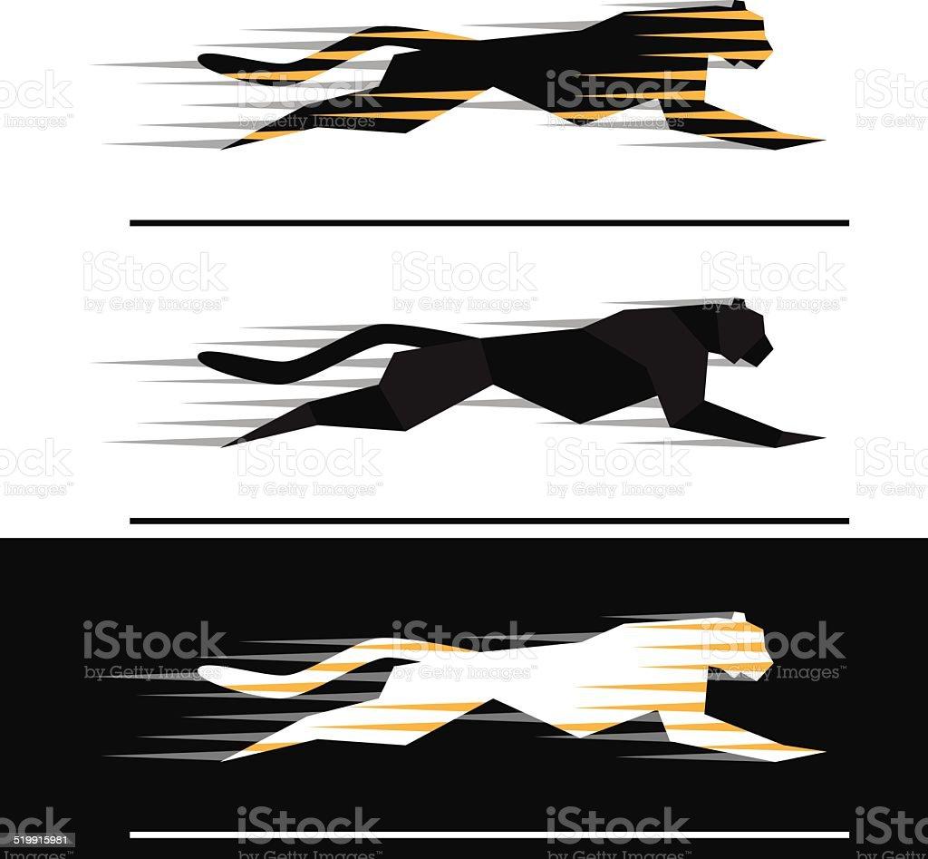 Running feline