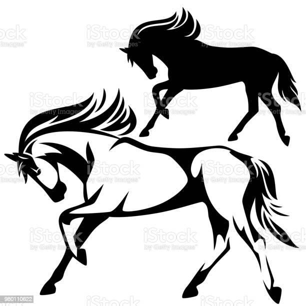 Running horse profile vector design vector id980110622?b=1&k=6&m=980110622&s=612x612&h=r9ms7ezbvosty78lepkc4qvyp3t zfg80oaeqyq4wpq=