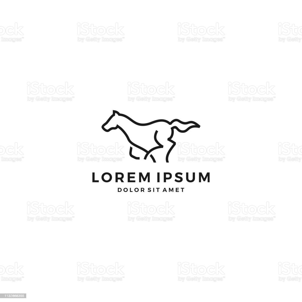 Running Horse Vector Stock Illustration Download Image Now Istock
