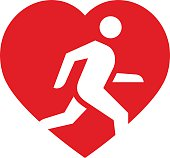 Running is life icon