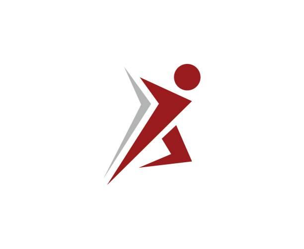 Running homme icône - Illustration vectorielle