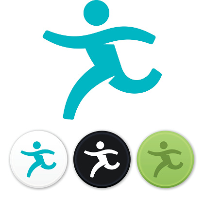 Running Man Symbol