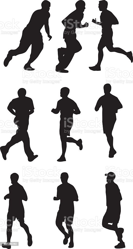 Running People royalty-free running people stock vector art & more images of adult