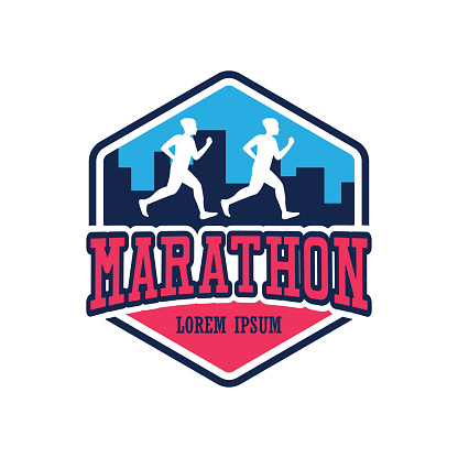 running race people / marathon, sport and activity icon