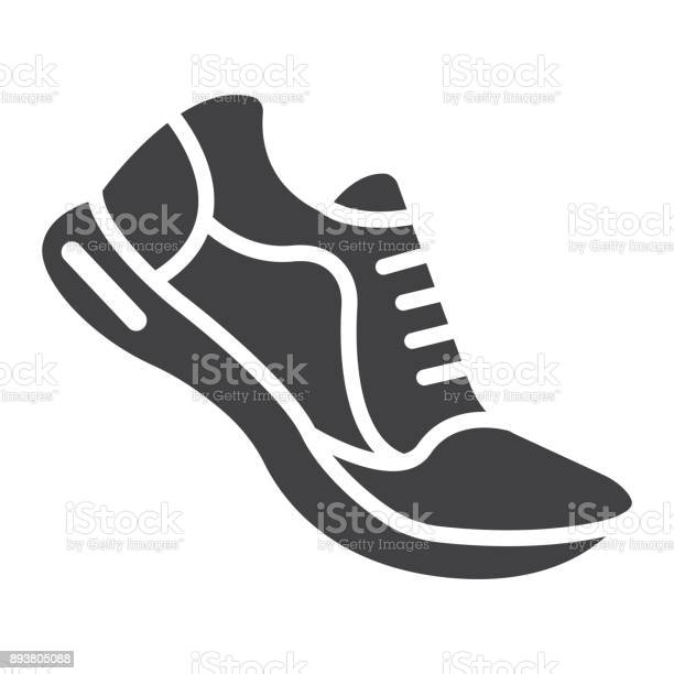 Running shoes glyph icon fitness and sport gym sign vector graphics a vector id893805088?b=1&k=6&m=893805088&s=612x612&h=peqfbiaucd5gsi3rkwqtuxnrt3okddmmrqogtpay4i4=