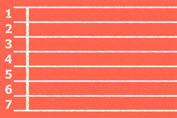 running track vector - stripped pattern stock illustrations, clip art, cartoons, & icons