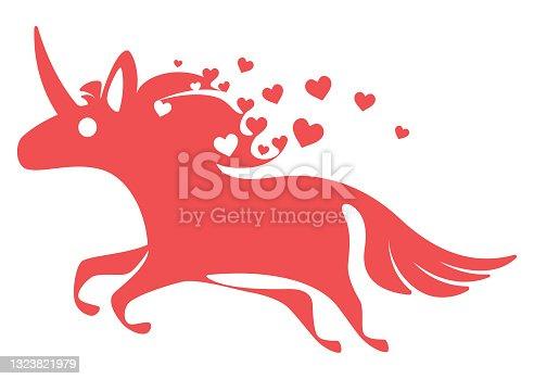running unicorn symbol