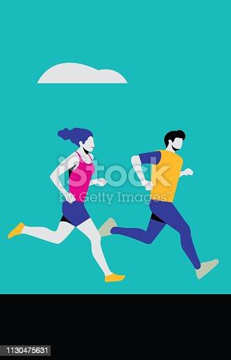 istock running 1130475631