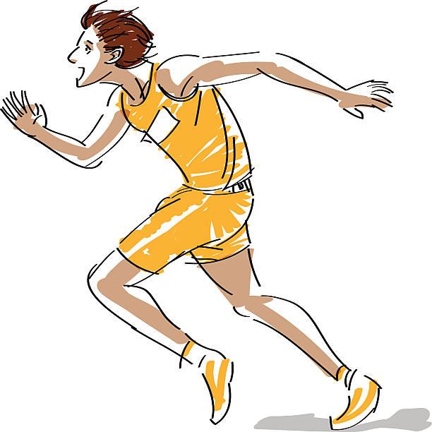 running - langstreckenlauf stock-grafiken, -clipart, -cartoons und -symbole
