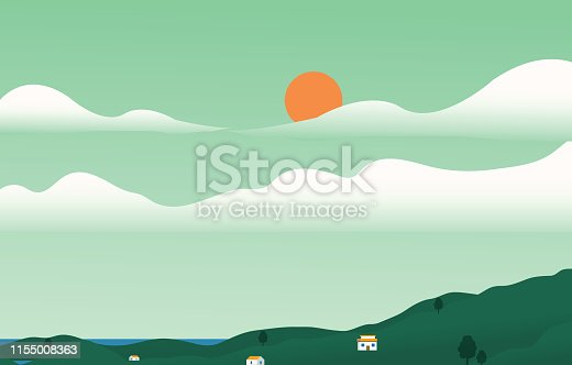 Rural Scene, Town, Forest, Abstract, Agricultural Field