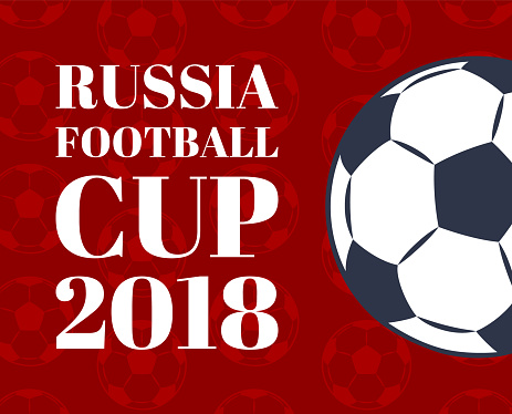 Russia 2018 International Footbal Cup Color Card
