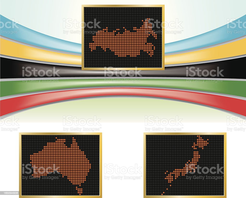 Russia, Australia and Japan Olympic Billboard royalty-free russia australia and japan olympic billboard stock vector art & more images of asia