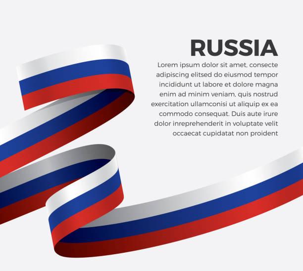 ilustraciones, imágenes clip art, dibujos animados e iconos de stock de fondo de bandera de rusia - bandera rusa