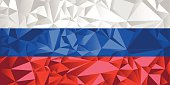 Vector File of Russia Flag