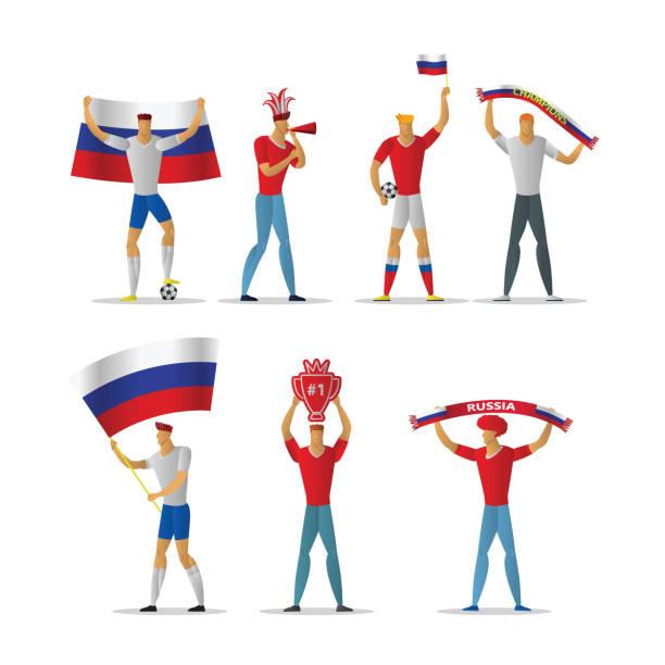 応援団 旗 イラスト素材 Istock