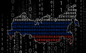 Russia hacking background