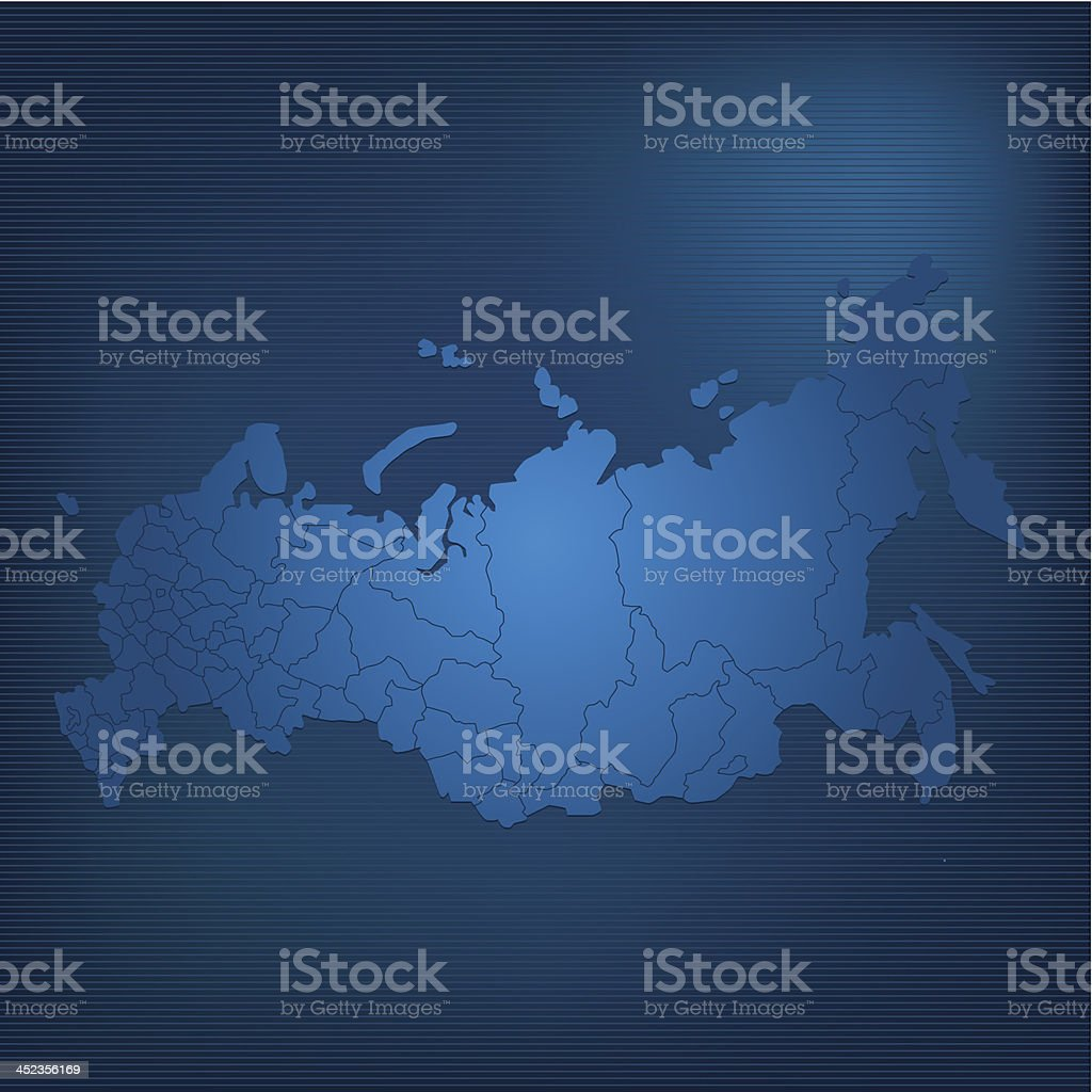 Russia map dark royalty-free russia map dark stock vector art & more images of asia